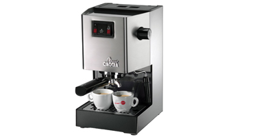 gaggia classic brushed stainless steel espresso machine