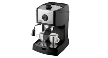 ec155 15 bar pump espresso and cappuccino maker review the edge - Delonghi Espresso Machine